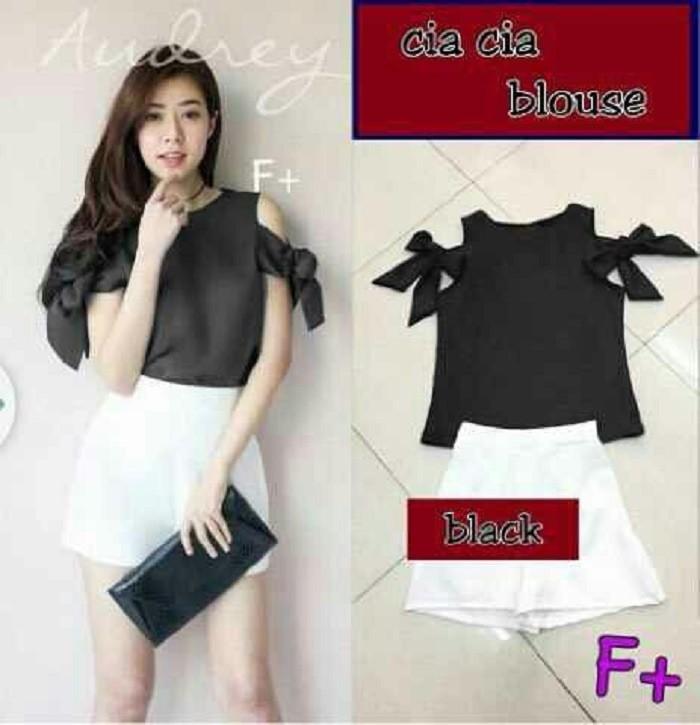 harga Ica black [atasan wanita blouse 0124] rba Tokopedia.com