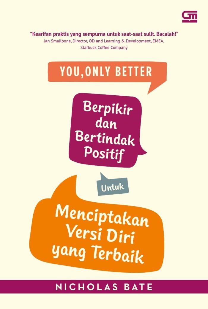 Buku You Only Better - Nicholas Bate