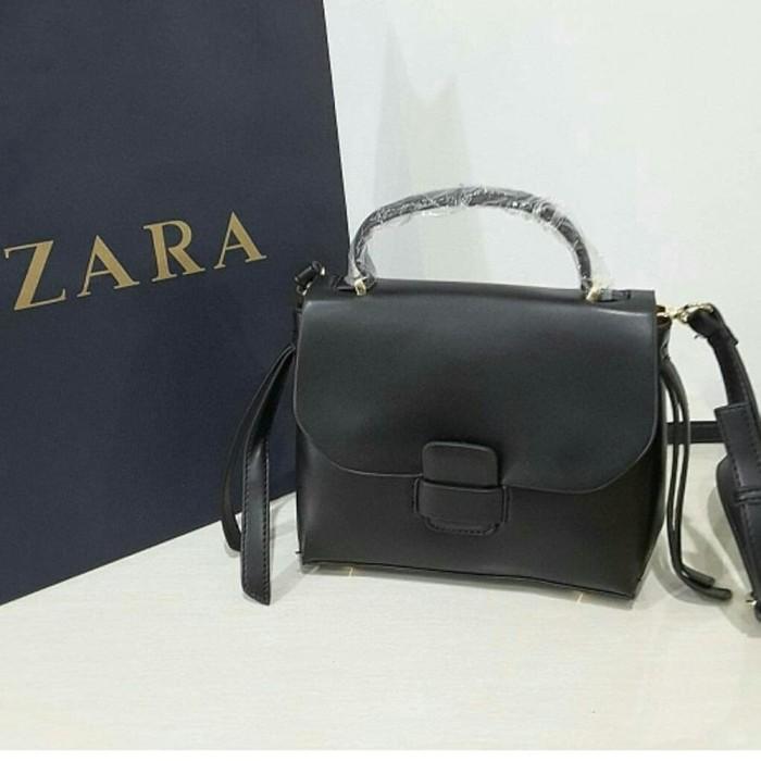 Tas Wanita Zara Original 172 Black Diskon