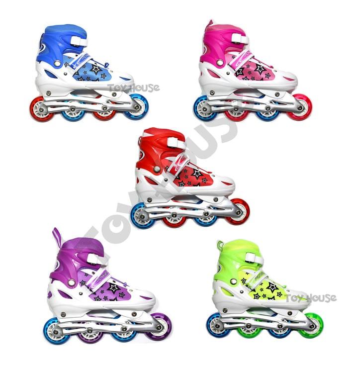 Jual Sepatu Roda Anak Harga Grosir - Inline Skate Murah - Mainan ... d2ac771e2c