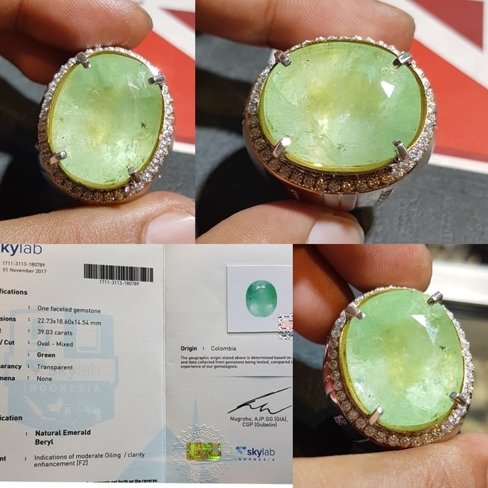 Katalog Batu Zamrud Colombia Emerald Hargano.com