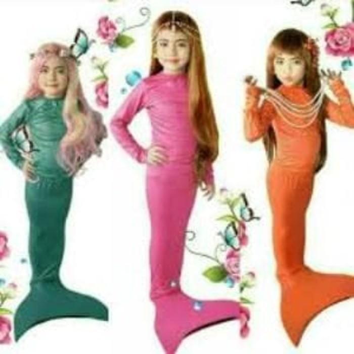 harga Setelan baju panjang kostum renang mermaid /putri duyung motif sisik Tokopedia.com