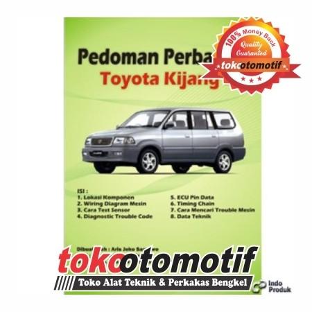 Jual Pedoman Perbaikan Mobil Toyota Kijang Efi