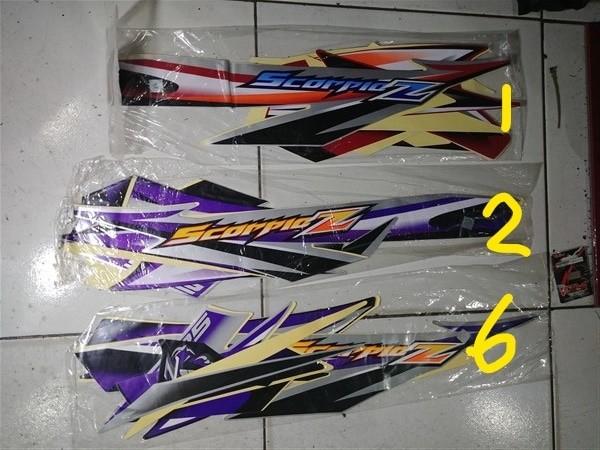 harga Striping lis&stiker body&stiker motor scorpio z 2006 2007 Tokopedia.com