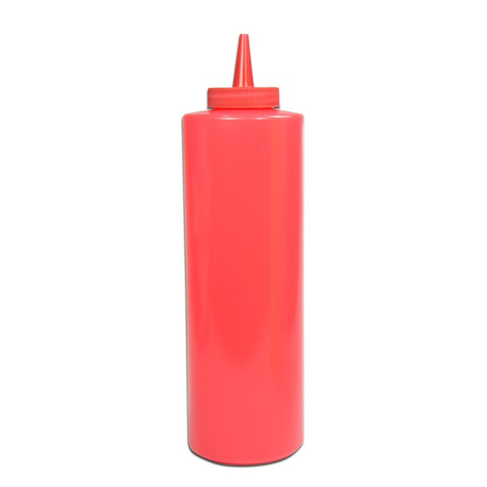 harga Botol saos- mayonaise  plastik merah - red squeeze dispenser 12 oz - 1 Tokopedia.com