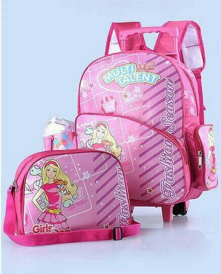 5HGBGWI Tas Sekolah Anak Perempuan Tas Troli Tas koper Anak Sekolah