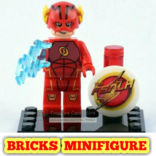 Jual Lego Minifigure 068 Red Flash Xinh Minifigures Super Heroes