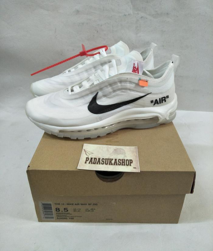 4ed0be677b Jual sepatu nike air max 97 OG x off white unauthorized authentic ...