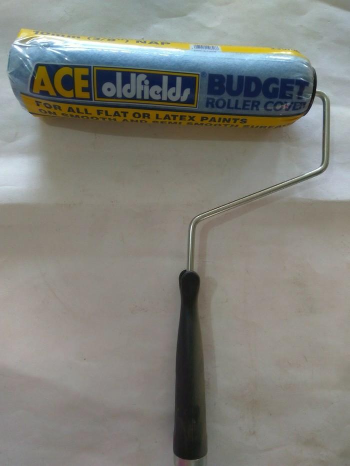 harga Kuas roll cat tembok ace bagus / gagang + busa bulu roll ace Tokopedia.com