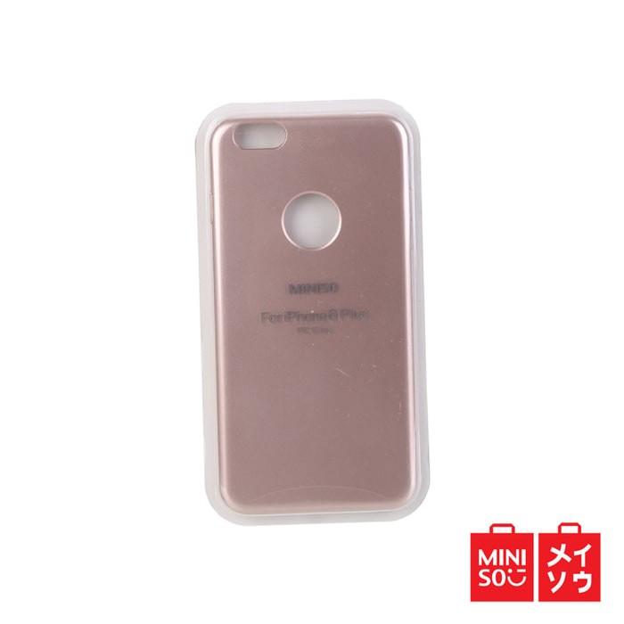 quality design fb973 addd4 Jual Miniso Official Metal Cell Phone Case for Iphone 6 plus (Pink) (3533MN  - Kota Bekasi - Bekasi onlinestore | Tokopedia