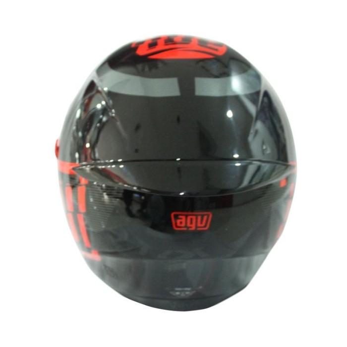 AGV K3 SV Myth Helm Full Face - Black Grey 3