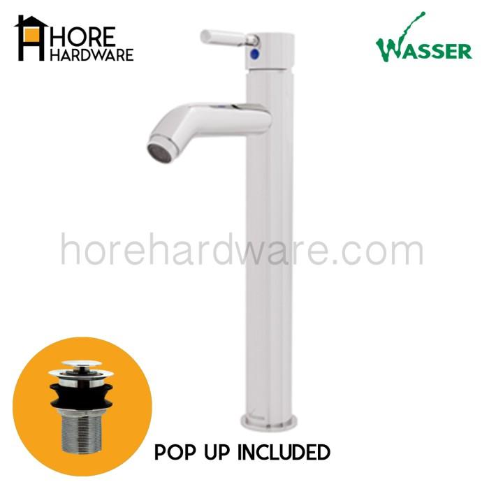 harga Wasser kran wastafel mixer tinggi include pop up mba s330 panas dingin Tokopedia.com