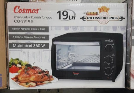 harga Cosmos co-9919 oven listrik 19 liter gojek only Tokopedia.com