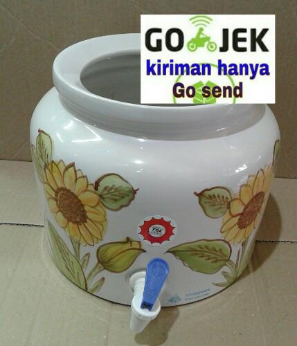 harga Guci air,guci galon,guci keramik trisensa Tokopedia.com