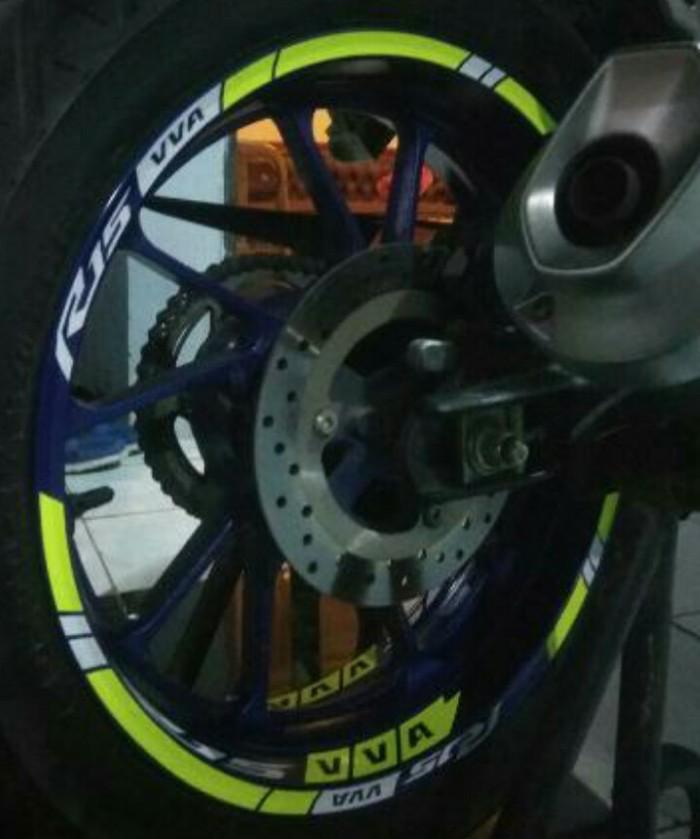 Jual Stiker Velg Motor Wheel Sticker Yamaha R15 V3 Vva Ring 17