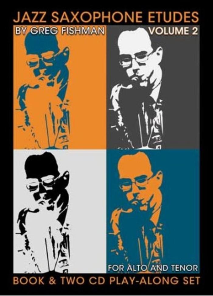 Buku Saxophone Jazz Etude - Vol.2 - Include 2 CD
