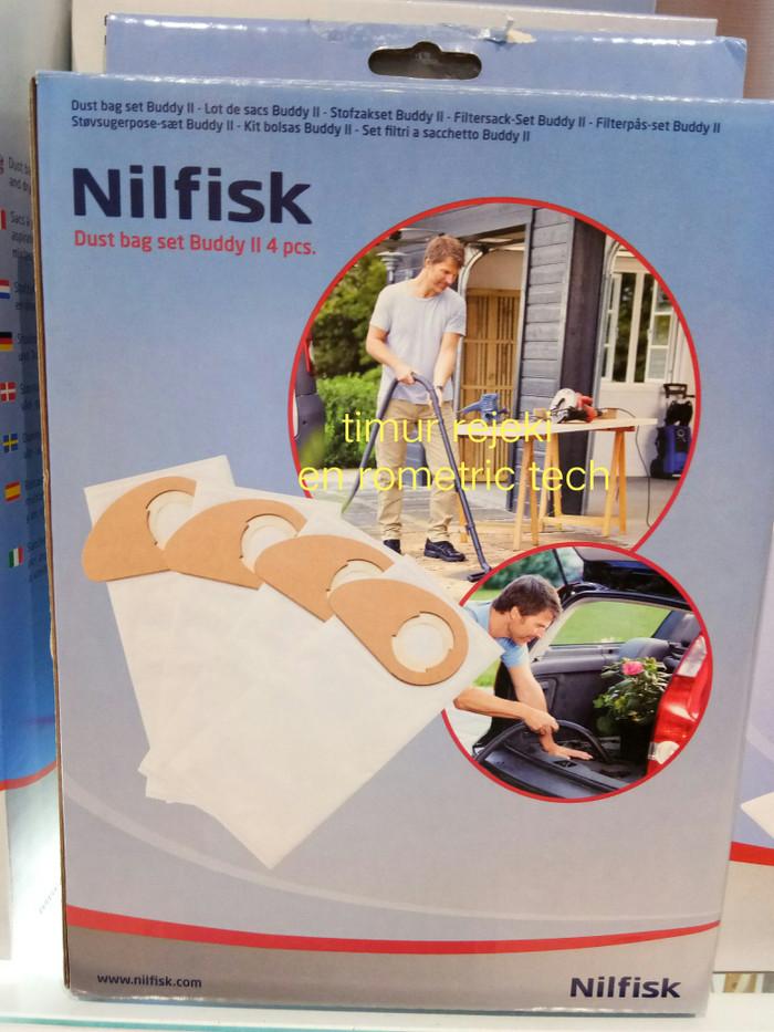 harga Nilfisk kantong debu buddy ii dust bag set 4pc Tokopedia.com