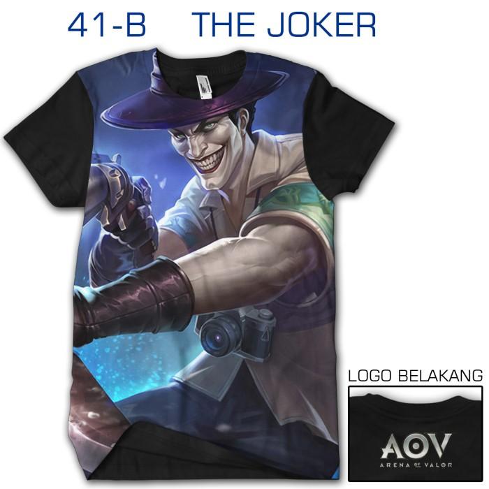 harga Kaos 3d games aov arena of valor the joker 41-b Tokopedia.com