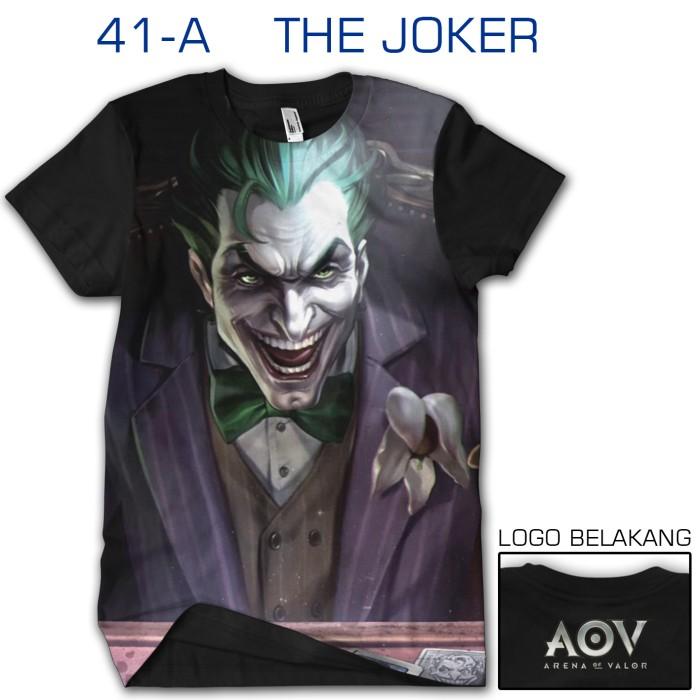 harga Kaos 3d games aov arena of valor the joker 41-a Tokopedia.com