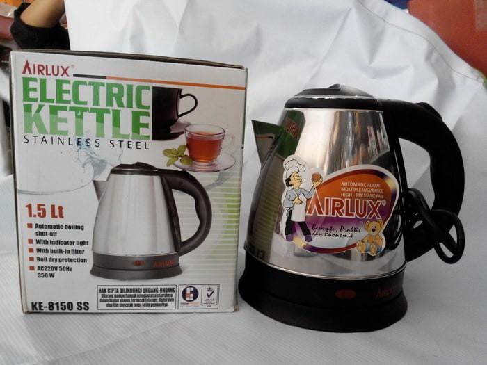 Katalog Airlux Electric Kettle Travelbon.com