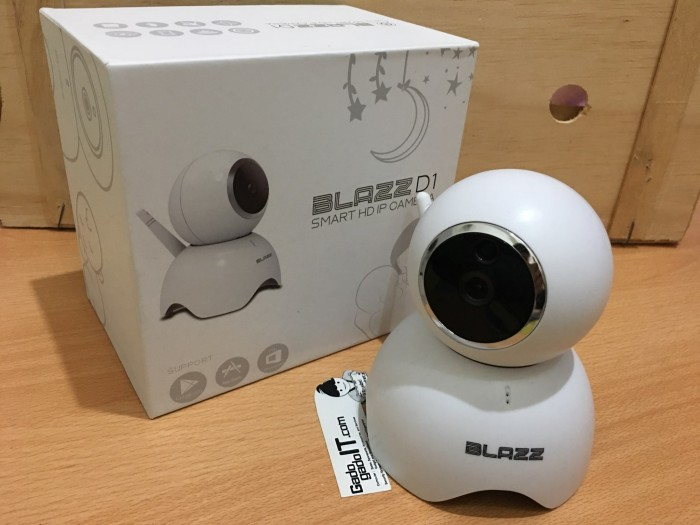 BLAZZ D1 IP Cam CCTV Wifi Wireless Portable Smart Baby Camera HD 720P