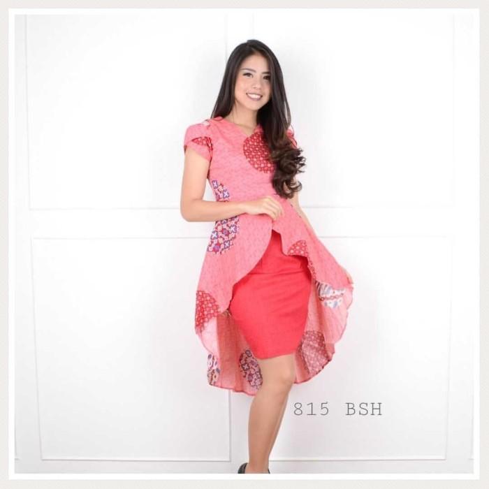 harga Dress atasan blouse baju batik wanita murah / barsha wide tail dress Tokopedia.com