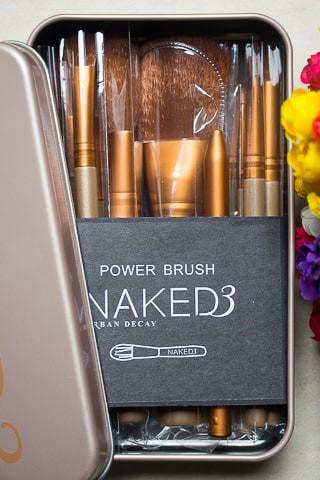 harga Kuas make up naked 3 set isi 12 pcs  - makeup brush naked urban decay Tokopedia.com