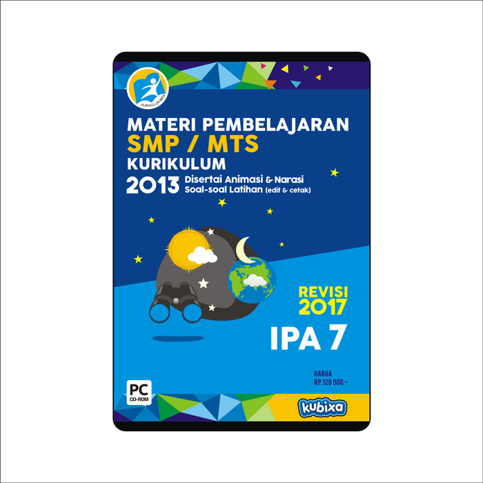 Foto Produk CD MATERI PEMBELAJARAN IPA SMP-MTS KELAS 7 dari SMART EDUMEDIA