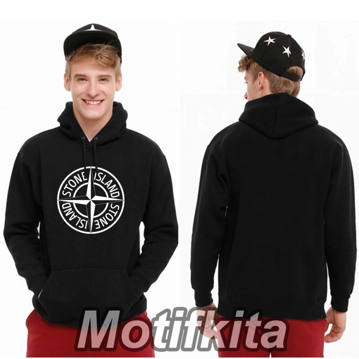 harga Keren!!! jaket stone island hoodie sweater pria wanita motifkita Tokopedia.com