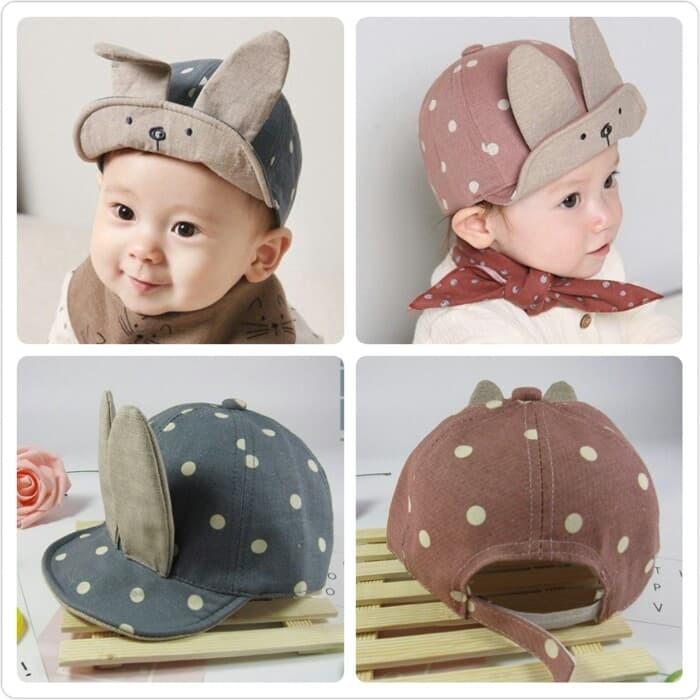 harga Topi rabbit kelinci tekuk anak baby Tokopedia.com