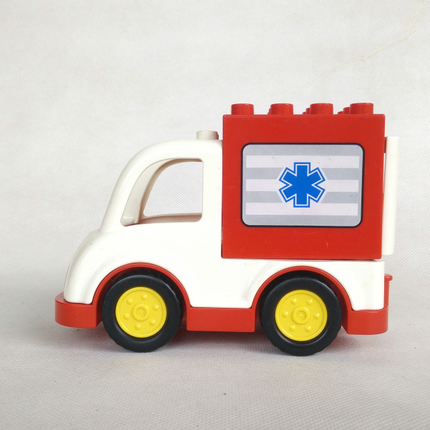 Jual Lego Duplo Original Mobil Ambulance Part Out Set 10827 Kota