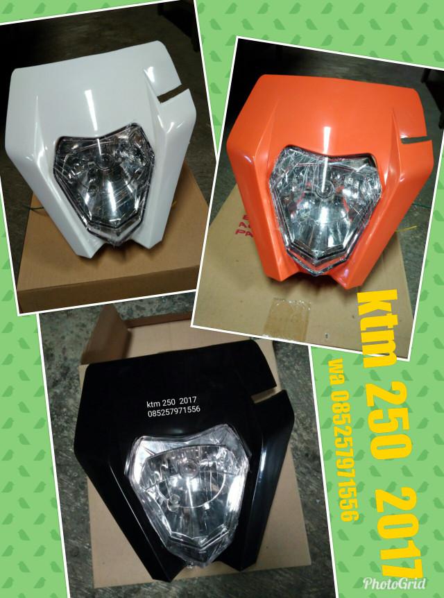 harga Headlamp trail ktm 250 2017 lampu depan ktm 250 Tokopedia.com