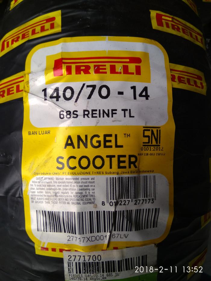 PIRELLI 140//70-14 68S DIABLO SCOOTER REINF TL