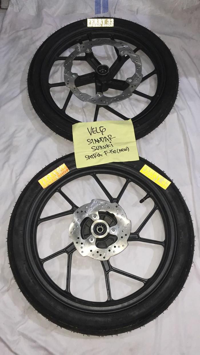 harga Termurah velg racing satria fu 150 original sett disc dan ban Tokopedia.com