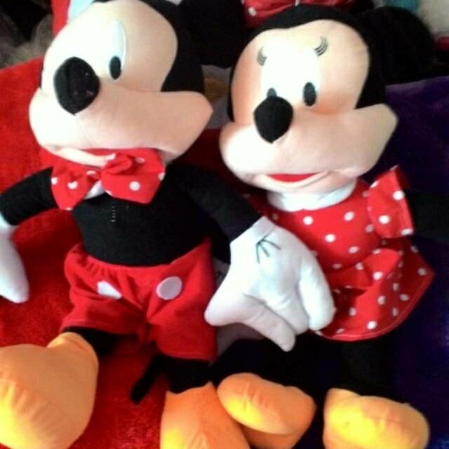 Jual PROMO Boneka Mickey Mouse   Minnie Mouse murah terlaris XL ... 5e4d2af940