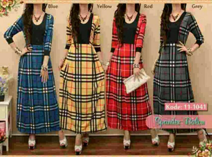 harga Gamis dress jersey burberry m212 Tokopedia.com