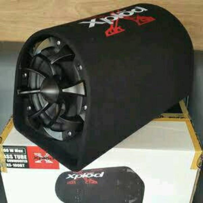 harga Subwoofer aktif xplod xs-100bt/bass tube/basstube xplod xs-100bt Tokopedia.com