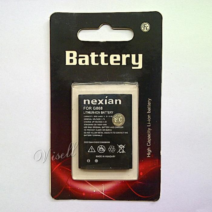 Baterai nexian ba-007 / tm-007 for tap g868