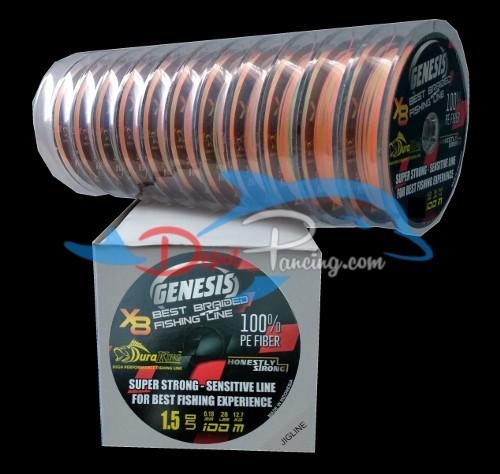 harga Duraking genesis pe 1.5 / 0.18 mm / 12.7 kg / 28 lbs Tokopedia.com
