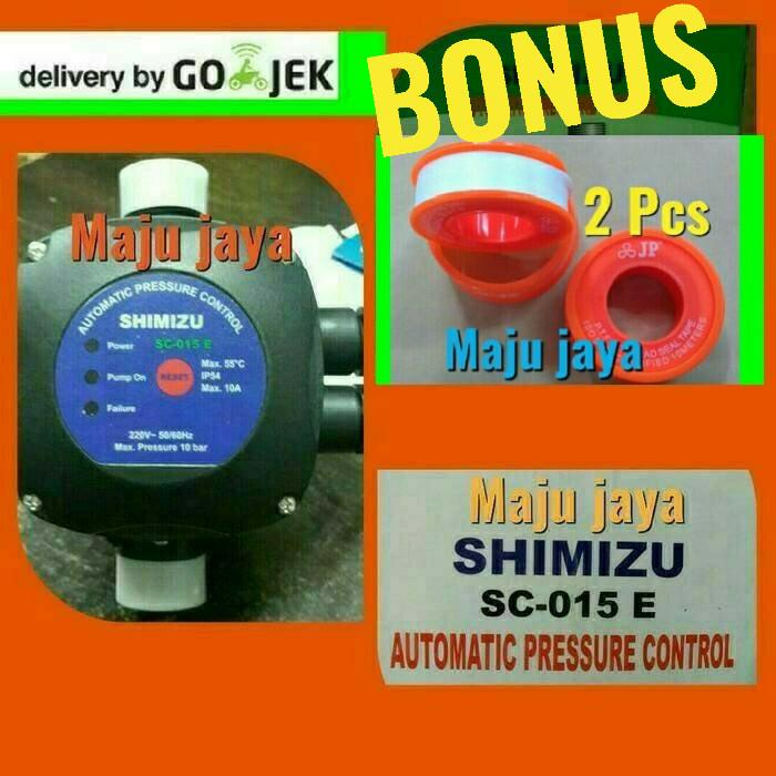 harga Automatic press control  shimizu  pompa air semi jet pump booster 375 Tokopedia.com