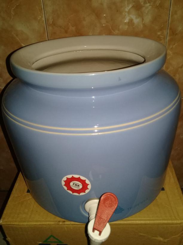 harga Guci keramik polos - guci galon polos Tokopedia.com