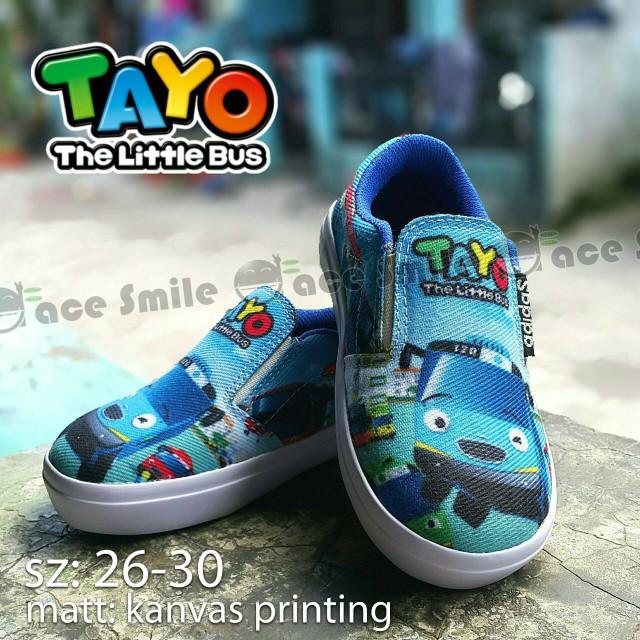 ... harga Sepatu anak slip on keren krakter tayo. Tokopedia.com 0e4172dc73