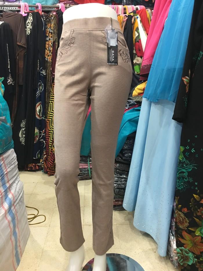 Jual Celana Panjang Merk Saya Bahan Kaos Tutone Polos Dan Bintik Kota Surabaya Jjshopsurabaya Tokopedia