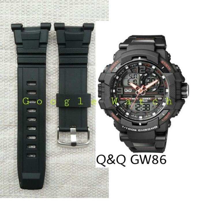 TALI JAM TANGAN Q&Q GW-86 STRAP QNQ QQ Q&Q GW86