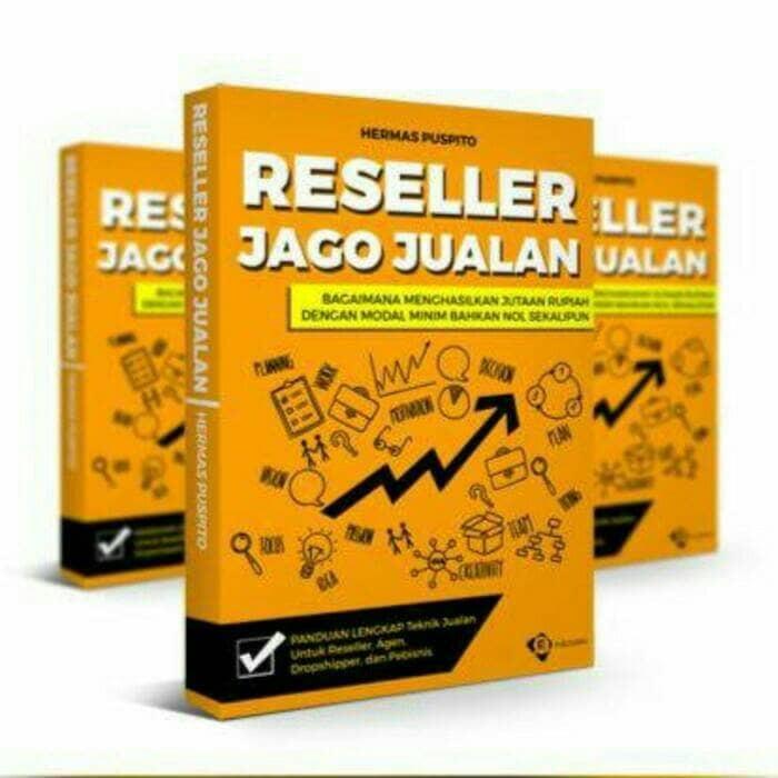 harga Buku bisnis ii reseller jago jualan - hermas puspito ii kode sg 107 Tokopedia.com