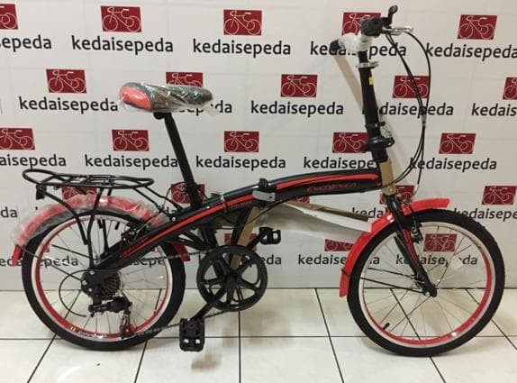 Jual Sepeda Lipat Evergreen 20 Rem Vbrake Unik