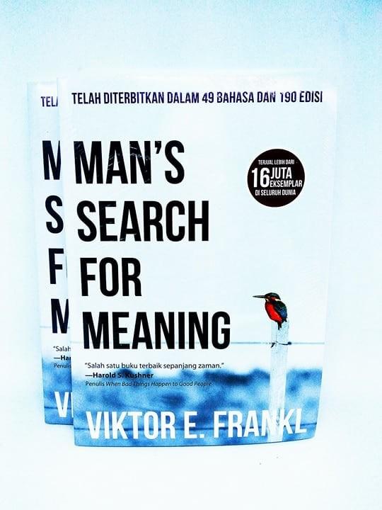 Foto Produk MANS SEARCH FOR MEANING - Viktor E. Frankl - dari Buku Sosial