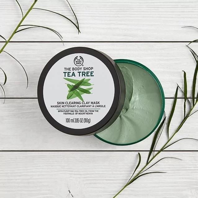 harga Asli the body shop tea tree clay mask 100ml Tokopedia.com