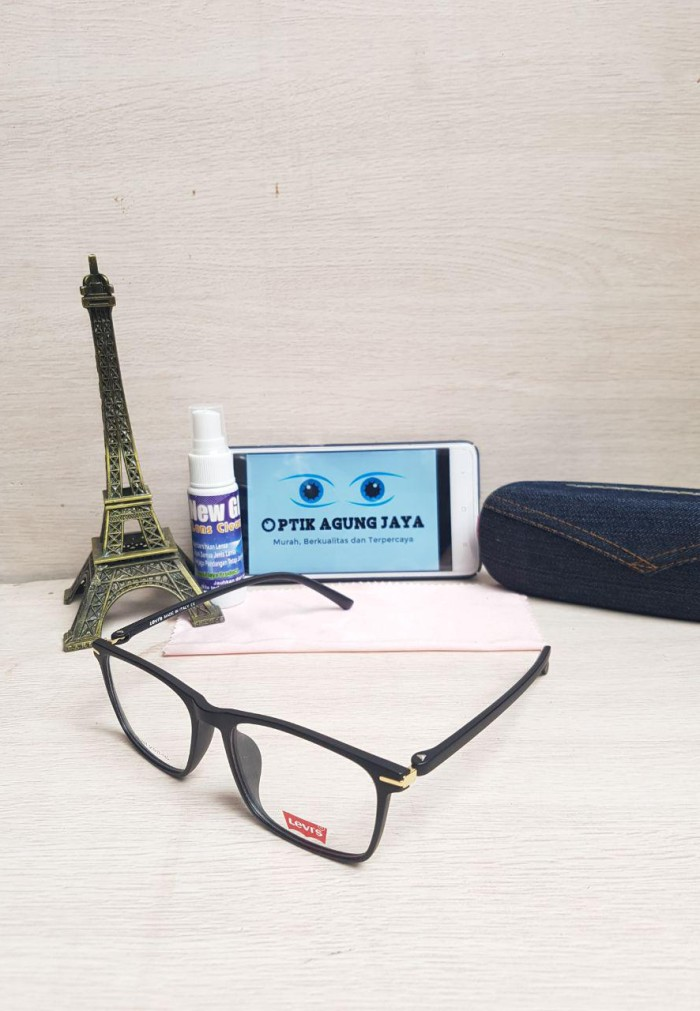 Jual  Anti Patah+ringan  Frame Kacamata+lensa Levis High Quality Dan ... 2334566f71