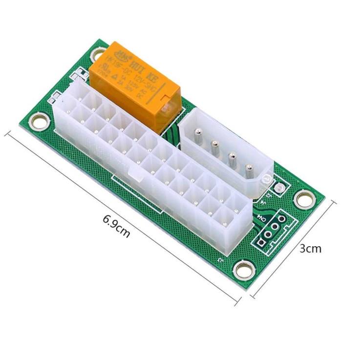 harga Chipal atx molex power supply 24pin to 4pin dual psu for bitcoin miner Tokopedia.com